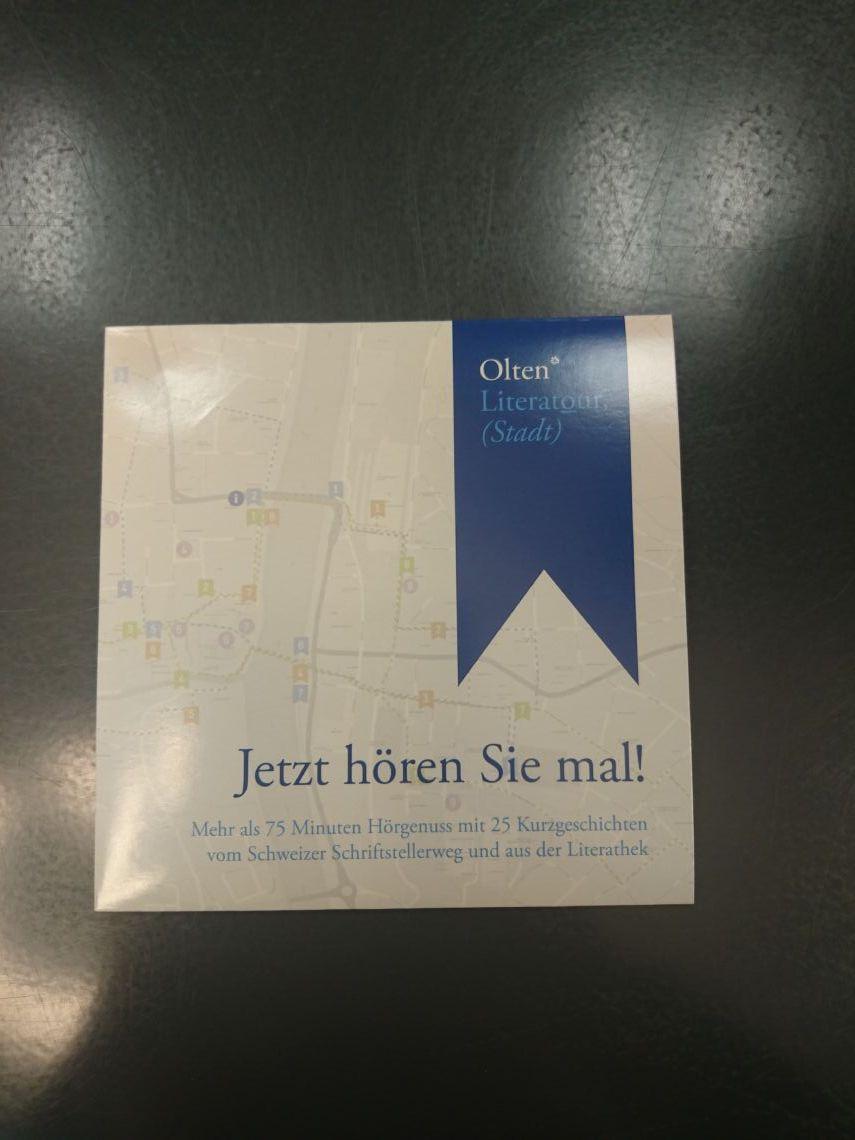 """Die Geschichten-CD """"Jetzt hören Sie mal!"""" für nur 5.00 CHF statt 10.00 CHF"""
